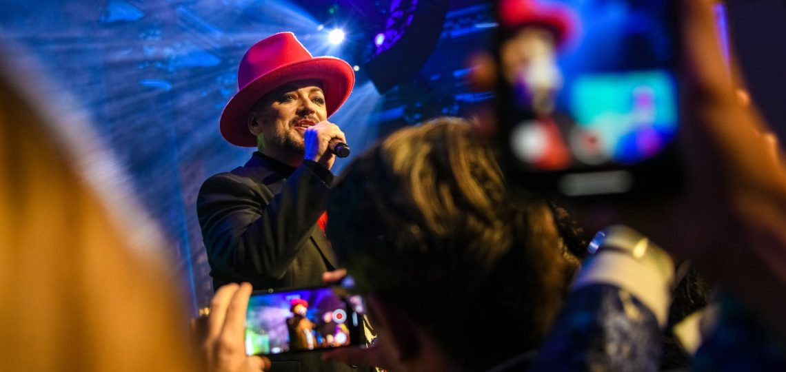 Boy George Performers at The Angel Ball—New York Times