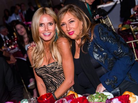Heidi Klum Honored at Denise Rich's Angel Ball (2015)